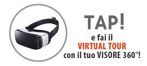 TAP per il Virtual Tour Speedy Fruit con il tuo VISORE 360°